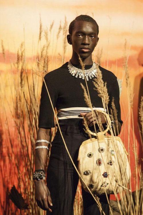 Grace Wales Bonner Black Fashion Designers Black Male Models