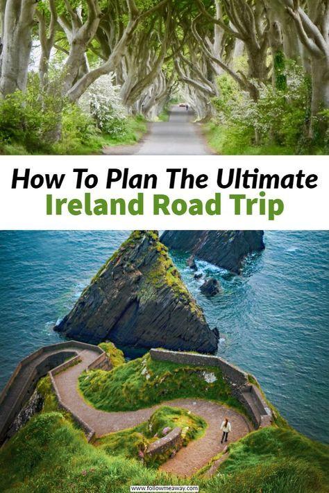 O itinerário perfeito de viagem na Irlanda que você deve roubar   – Reisen