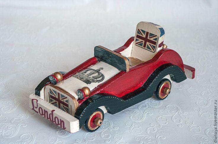 Купить Чисто английская машина - ярко-красный, машинка, машина, машинки, лондон, англия