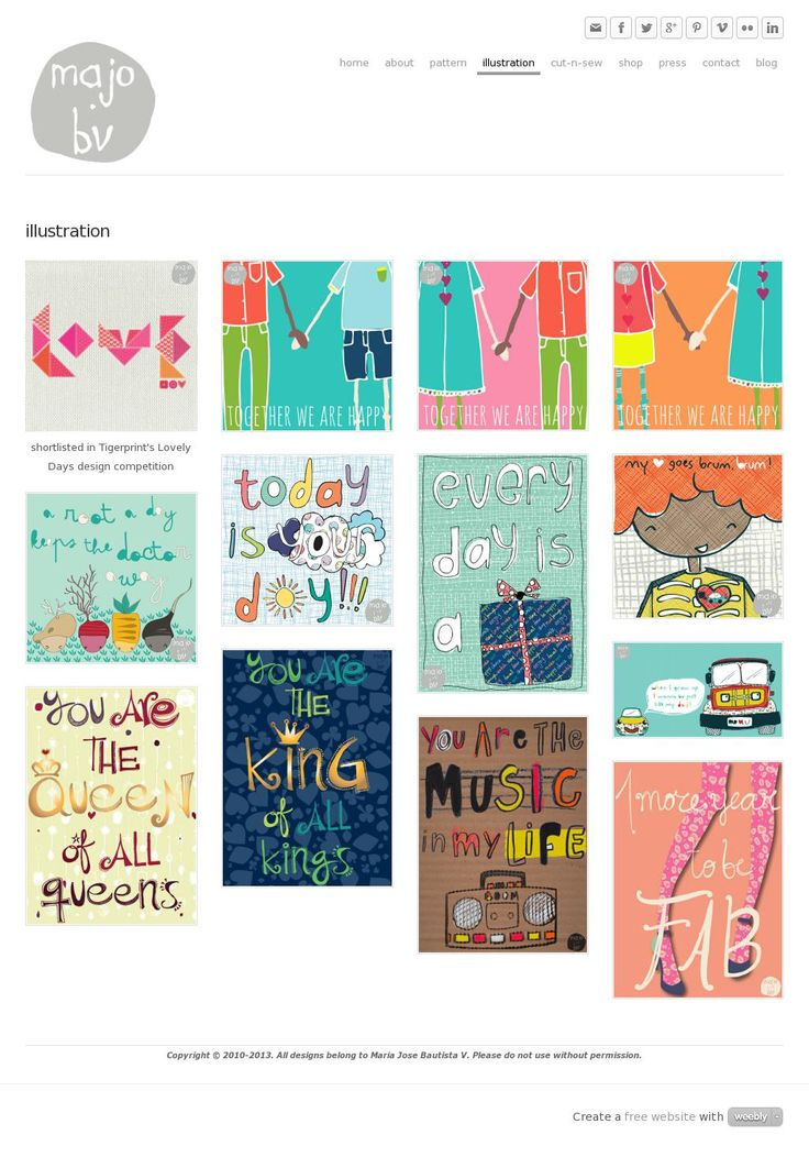 Illustration and Lettering by ©MaJoBV http://www.majobv.com/illustration.html :: hand-drawn :: whimsical :: quirky