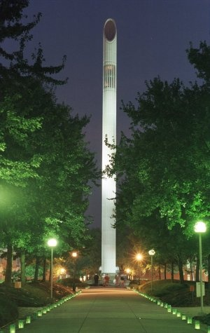 UNCC Belk Tower, my home for the next four years :)
