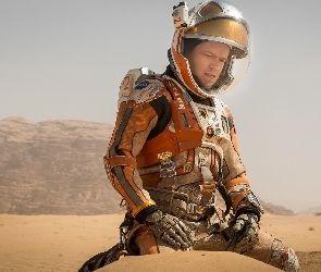 Film, Astronauta, Matt Damon, Kosmonauta, Marsjanin