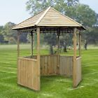 Zest 4 Leisure Chester Gazebo Pavilion Curving Trellises Timber