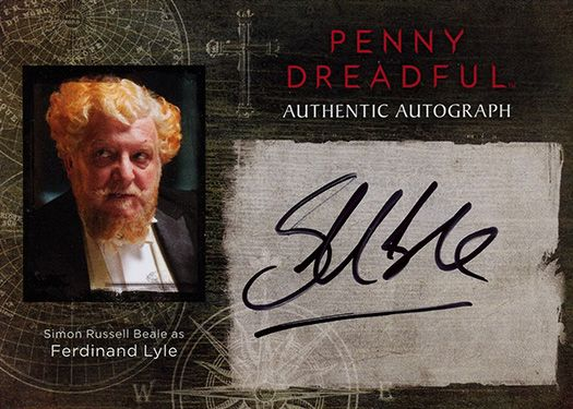 Simon Russell Beale autograph | Penny Dreadful Trading Cards Season 1 | Cryptozoic Entertainment