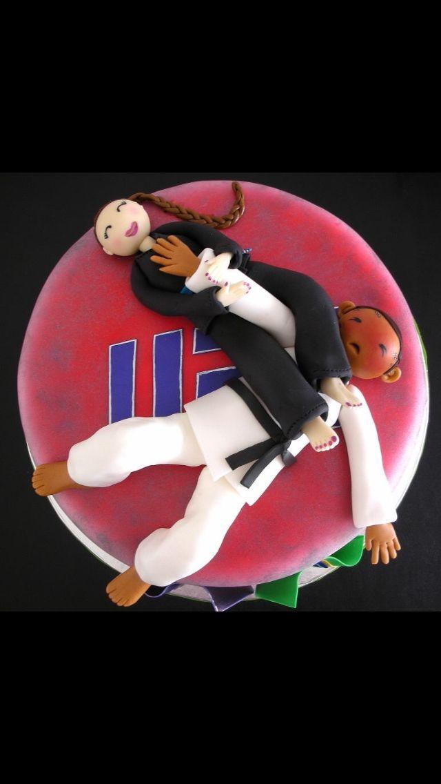 UFC Brazilian Jiu Jitsu cake.