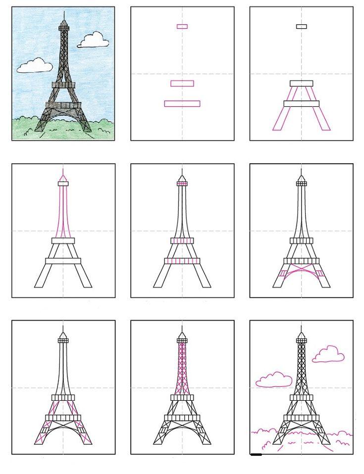 Idea per disegni facili per bambini passo per passo per for Disegni 3d facili per bambini