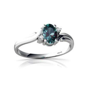 The more I see engagement rings in this style the more in love I am with them. So simple and so unique. Im not one to like big and flashy and this style of ring with my favorite stone would be perfect as my engagement ring. $199