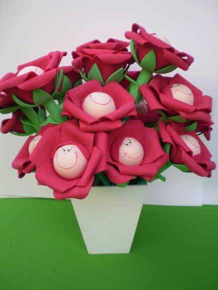 Ponteira Rosa do Pequeno Príncipe | Sonhos de E.V.A. Artesanatos | 2D4199 - Elo7