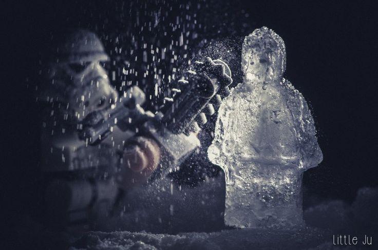 Le sculpteur de glace - little ju ! photo