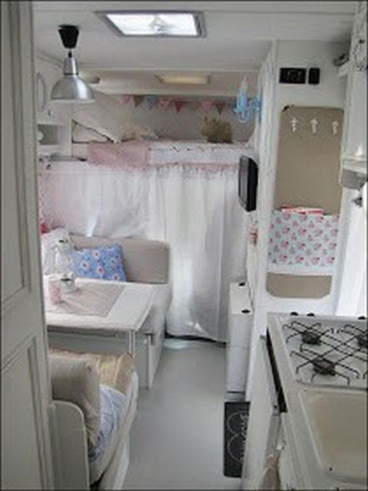 90 rv interior before and after makeover travel rv - Interior caravana ...
