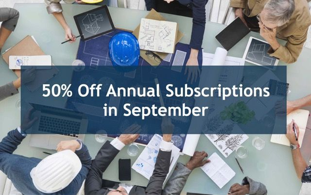 Save 50% on Annual Subscriptions - Collabor8online