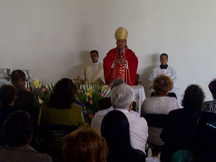 Mensaje principal por parte de MONSEÑOR ENRIQUE SANCHEZ MARTINEZ--Homilia--