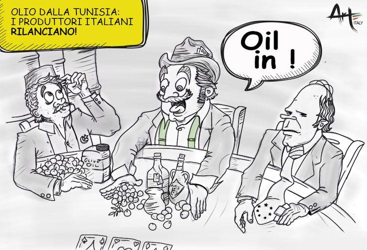 Olio dalla Tunisa. Un'opportunità per il vero Made in Italy?