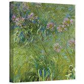 Found it at Wayfair - Claude Monet Agapanthus 2 Canvas Art