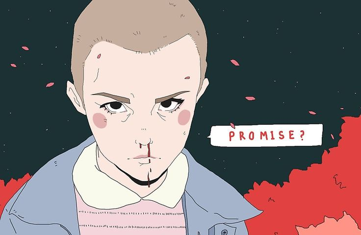 Promise?- Eleven from Stranger Things