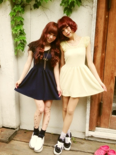 kurosaka yukako & Sumire Yoshida #Fashion #clothes #japanese  #models