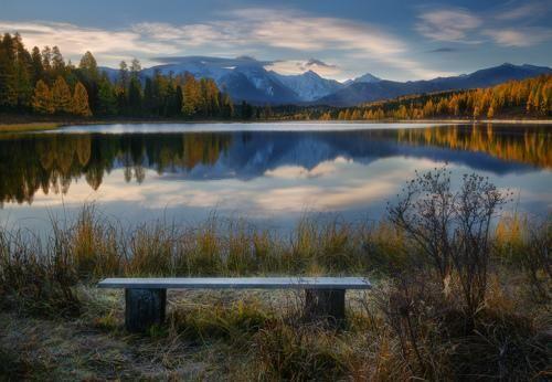 Фотограф Владимир Ляпин - Утро в краю горных озер #2029993. 35PHOTO