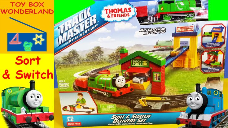 Thomas The Train Toys Thomas & Friends TrackMaster Sort & Switch Deliver...