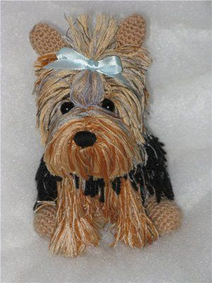 Author's Toy Yorkie Natalia Olshinoy amirugumi crochet, free pattern