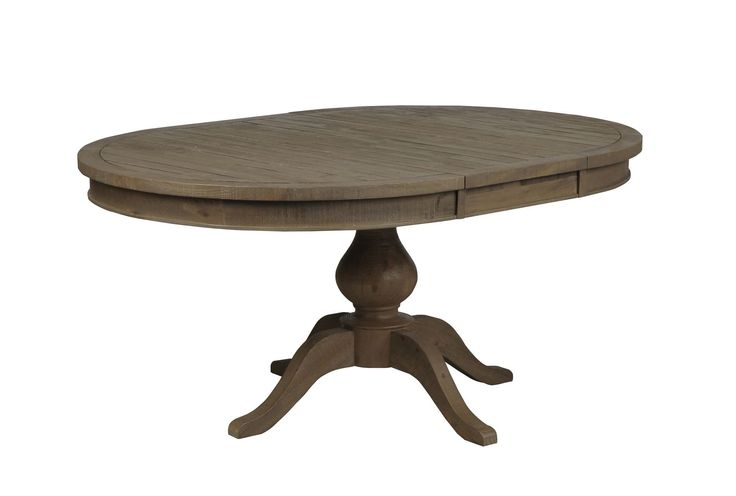 round/oval dining table with leaf 3