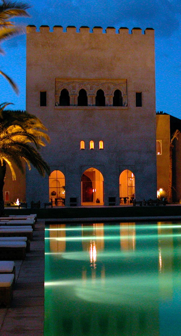 Cond 233 nast traveler 2013 hot list of top new hotels worldwide - Ksar Char Bagh Hotel Marrakech Morocco
