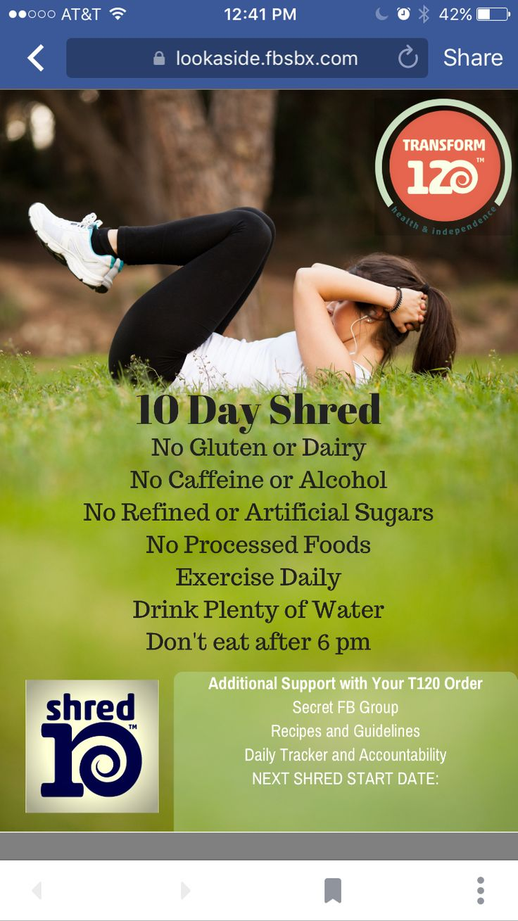 1000 Images About 10 Day Shred Serickson Juiceplus Com