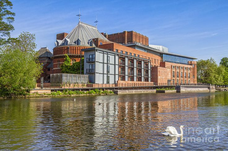 ... Stratford Upon Avon Royal Shakespeare Theatre by Colin and Linda McKie