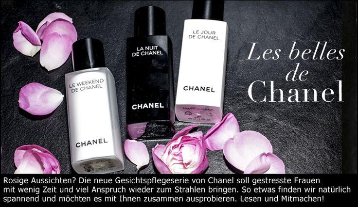 Drei für eine: Die Hautpflege Le Jour, La Nuit, Le Weekend de Chanel zum Mitmachen und selber Testen