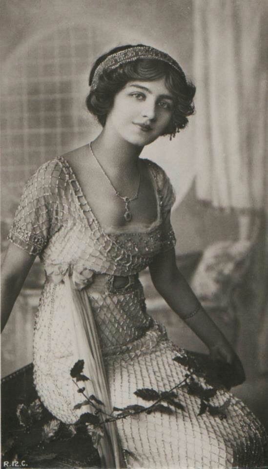 Actress Lily Elsie