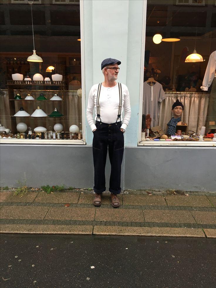 Henley from hemen. Does not get any better. Pants from Lane Fortyfive. Cap from Wilgartcaps.  #hemen-biarritz #lanefortyfive #wilgart #smallshopkeeper #derkleinekrämer