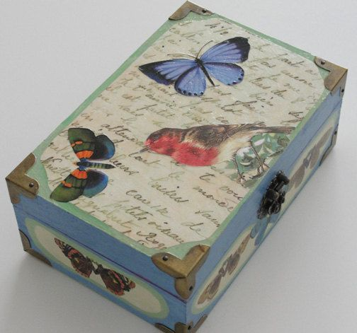 DECORATIVE BOX by Laura Tompkins