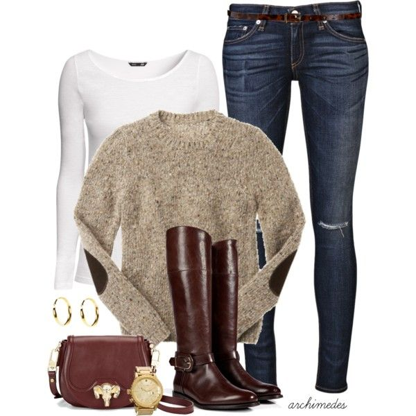 """Elbow Patches"" by archimedes16 on Polyvore"