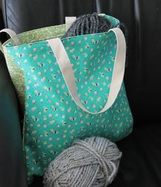 Here's a good first tote bag project that will instatntly become your go-to pattern!