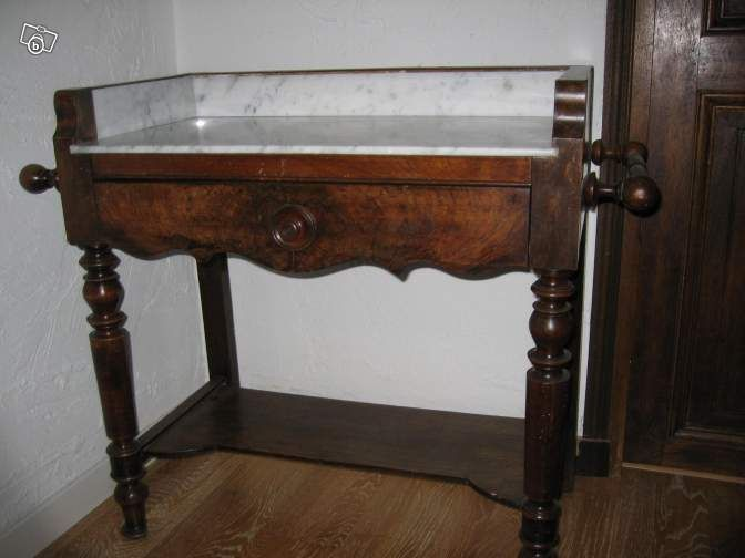 table de toilette ancienne ameublement alpes maritimes nice mud room. Black Bedroom Furniture Sets. Home Design Ideas