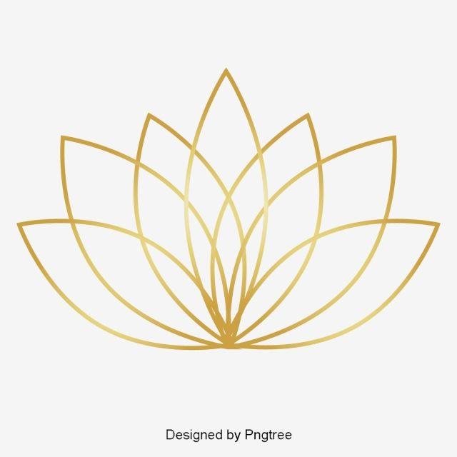 Golden Lotus Festival Lotus Clipart Lotus Vector Png And Vector With Transparent Background For Free Download Lotus Art Festival Tattoo Lotus Vector
