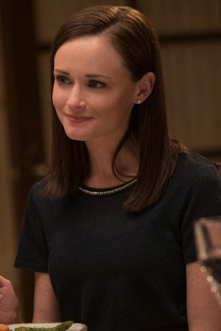 Gilmore Girls Alexis Bledel Basically Just Confirmed Who