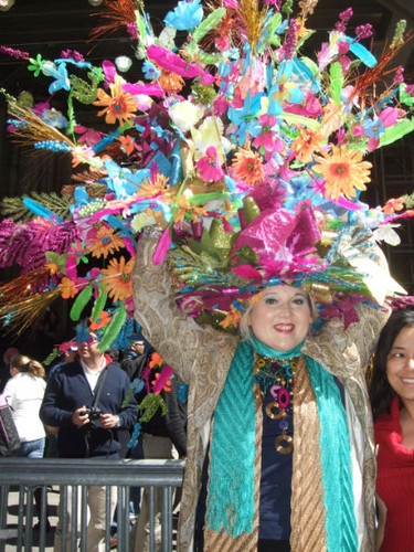Easter Parade 5th Avenue New York City - Here is an Easter hat parade hat to live up to!