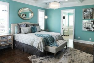 """""""View this Great Contemporary Guest Bedroom with Hardwood floors & Pendant Light in Brentwood, TN. The home was built in 2012 and is 5503 square feet. Discover & browse thousands of other home design ideas on Zillow Digs."""""""