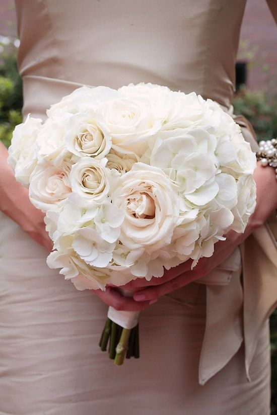 Pink Garden Rose And Hydrangea Bouquet 42 best blush bouquets images on pinterest | marriage, branches