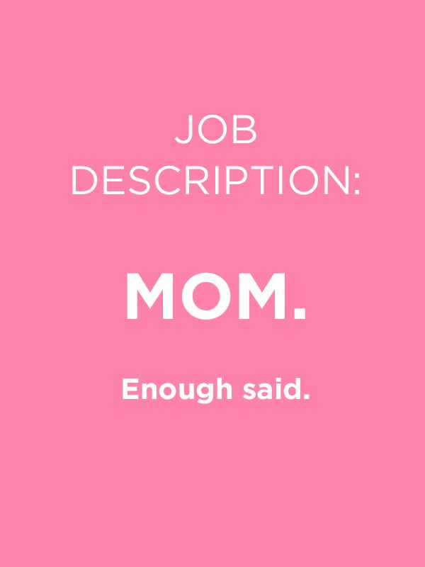 Enough said! Celebrate your Mom this Mother's Day.