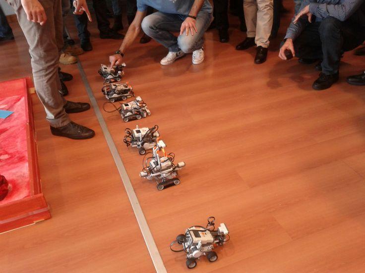 L'ultima frontiera del problem solving? Provate a ideare, progettare e gareggiare con un robot.... Il bello poi è che si impara giocando!!!