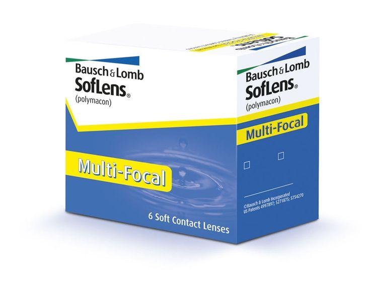 SOFLENS Multi-Focal for Presbyopia - 54.50€ - Μαλακοί πολυεστιακοί φακοί επαφής μηνιαίας αντικατάστασης της Bausch+Lomb. Εάν νομίζατε ότι η πρεσβυωπία - η ανάγκη για γυαλιά ανάγνωσης - σημαίνει το τέλος των φακών επαφής, ξανασκεφτείτε το. Οι φακοί επαφής SofLens Multi-Focal επιτρέπουν να δείτε καλά σε όλες τις αποστάσεις. Η Οπτική Natra-Sight δημιουργεί εύκολες μεταβάσεις από κοντά προς μακριά και σε όλα τα ενδιάμεσα σημεία. Ο καταχωρημένος σχεδιασμός περιφέρειας παρέχει άνεση όλη την ημέρα.