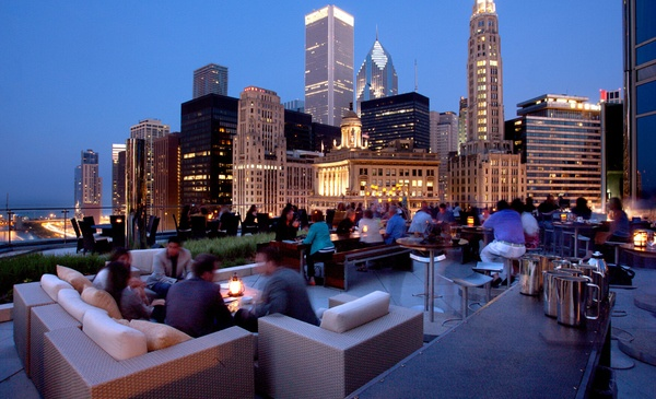 Chicago Rooftop Bars - Chicago, Illinois