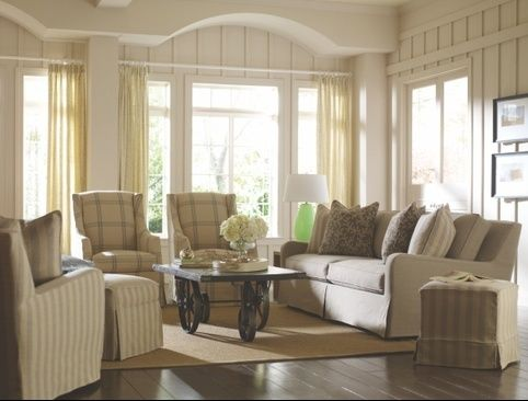 This lovely set up is all furniture from Rowe!