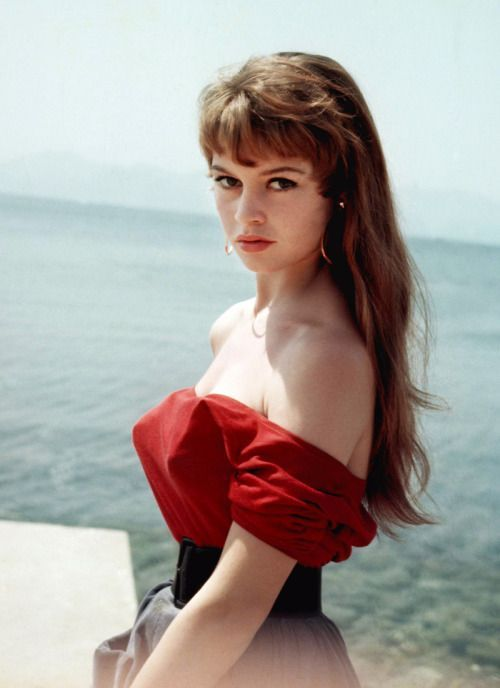 Brigitte Bardot | Cannes 1955//                                                                                                                                                     More