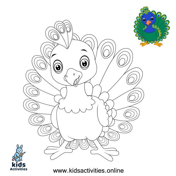 - Free, Printable Peacock Coloring Pages ⋆ Kids Activities In 2020 Peacock  Coloring Pages, Unicorn Coloring Pages, Toddler Coloring Book
