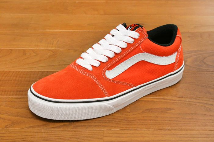 VANS TNT 5 -Orange/ White