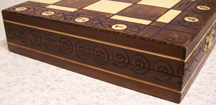 Self Storage Chess Boards are the Finest folding chess sets carved in wood best suitable for storing your chess pieces http://chesskart.com/chess-boards/self-storage-chess-boards #SelfStorageChessBoards
