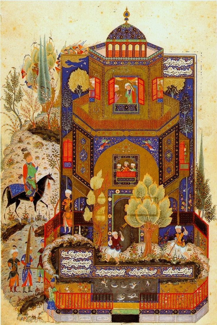 Tabriz style in Iranian miniature