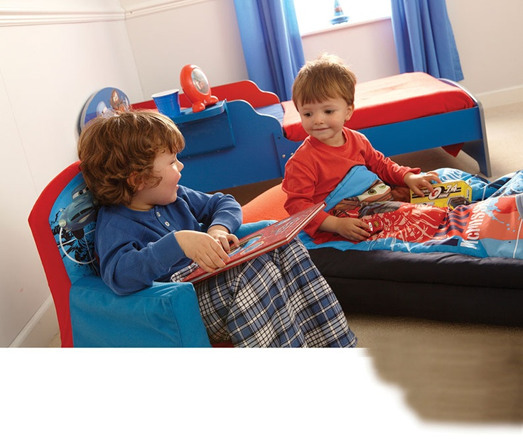 Let your little boy snuggle up with his favourite Disney Cars characters in this fleece covered cosy chair from Argos.